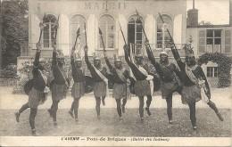 PONT DE BRIQUES. L' AVENIR. BALLET DES INDIENS - France