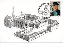 BELGIQUE. Carte Commémorative De 1966. Abbaye Notre-Dame Du Val-Dieu. - Abbazie E Monasteri