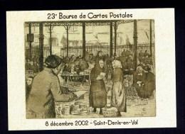 """Carte  """" LES HALLES D'ORLEANS """" 1930 - Eau-Forte Et Aquatinte Jeanne Champillou - Halles"""