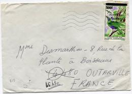 BENIN LETTRE  DEPART COTONOU ?-?-1986 R.P. DU BENIN POUR LA FRANCE - Bénin – Dahomey (1960-...)