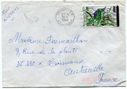 BENIN LETTRE PAR AVION  DEPART COTONOU-R.P. 27-3-1986 R.P. DU BENIN POUR LA FRANCE - Bénin – Dahomey (1960-...)