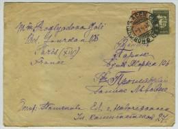 Enveloppe 1936 De Novotcherkassk Pour Paris. - 1923-1991 URSS