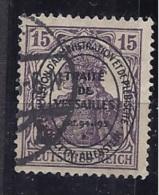 Allenstein1920: Michel17 Used - Abstimmungsgebiete