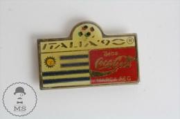 Italy 1990 FIFA World Cup Coca Cola Advertising Pin Badge #PLS - Coca-Cola