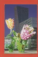 EURALILLE  LES TULIPES DE SHANGRI  A LILLE 59 NORD CARTE NEUVE - Fleurs, Plantes & Arbres