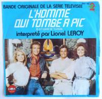 Disque 45T L'HOMME QUI TOMBE A PIC A2 - L LEROY SABAN - POLYDOR 2097 162  - 1982 - Collectors