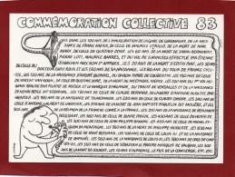 ILLUSTRATEUR JM PETEY COMMEMORATION COLLECTIVE DE 1983 AVEC DÉDICACE - Petey