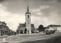 FLOBECQ : Grand'Place Et Eglise St-Luc - TRES RARE CPSM - Cachet De La Poste 1968 - Edit. : Paul Degueldre - Flobecq - Vloesberg