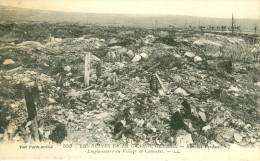 55 - CUMIERES - GUERRE 14-18, EMPLACEMENT DU VILLAGE DE CUMIERES - Guerra 1914-18
