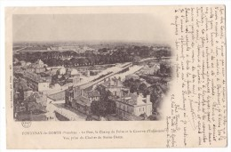 FONTENAY LE COMTE. - Le Port, Le Champ De Foire Et La Caserne D'Infanterie. Vue Prise Du Clocher De N-D - Fontenay Le Comte