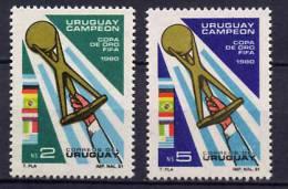 Uruguay 1981 Football Soccer Set Of 2 MNH