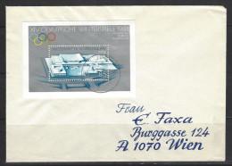 DDR - Beleg Mi-Nr. Block 74 - Olympische Winterspiele 1984 Sarajevo (2) - [6] Democratic Republic