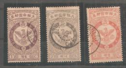 Sellos Nº 35/7 Corea - Corea (...-1945)