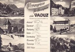 015G/ Liechtenstein, Feriengrüsse Aus Vaduz - Liechtenstein