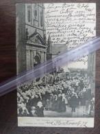 France Pluvigner Sortie De La Procession 1905 D56 - France
