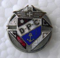 PIN-1 CUBA HISTORICAL PIN D-P-C. COLUMBUS KNIGHT - Badges