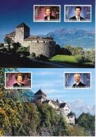 Met Opdruk Van Koningshuis - Liechtenstein