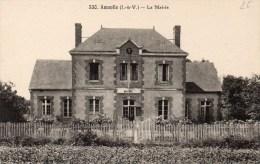 Cpa  Amanlis La Mairie - France