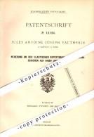 Original Patent - J.A. Vautherin à Chateau De Rans , 1880 , Fixation élastique Pour Voies Ferrées !!! - Documents Historiques