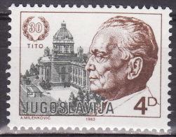 Yugoslavia 1983. 30 Years Of Tito's Election For President, MNH(**) Mi 1988 A - Ongebruikt