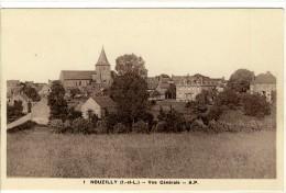 Carte Postale Ancienne Nouzilly - Vue Générale - Autres Communes