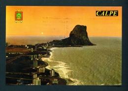 SPAIN  -  Calpe  Used Postcard As Scans - Spain