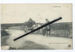 CPA -La Bretagne - Le Transport Du Goémon -   Charrette,cheval,chevaux - Bretagne