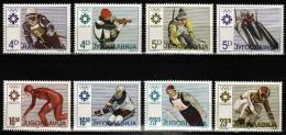 Yugoslavia 1984. Winter Olympic Games Sarajevo, MNH(**) Mi 2025/32 - Neufs
