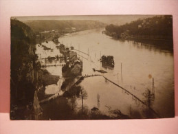 Marche Les Dames. Carte Photo. Innondation 1926 - Namur