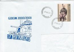 11344  FASM GEORGES LEYGUES à SINGAPORE En 2001 - GEAOM - Naval Post