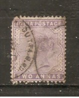 India Inglesa -  Nº Yvert 55 (usado) (o) (defectuoso) - 1882-1901 Imperio