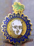 PIN-40 CUBA HISTORICAL PIN ORTODOXOS. PARTIDO DEL PUEBLO CUBANO CHIVAS. - Badges