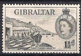 Gibraltar 1953 Tuna Industry,  Mi 136 MNH(**) - Gibraltar