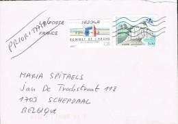 France 2013 Postal Cover  - Schepdaal (Belgium) - Dieppe -  L'Arche - France