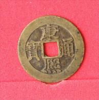 CHINA  1  CHASH    KANGXI   -  1661-1722 BEIJING  (Nº12210) - Chine