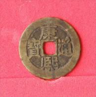 CHINA  1  CHASH    KANGXI   -  1661-1722  (Nº12212) - Chine