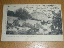 LE CHÂTEAU DE BOMAL SOUS DURBUY  (VALLEE DE L'OURTHE)  Ed. Ch. Delfosse  Barvaux  1902 - Durbuy
