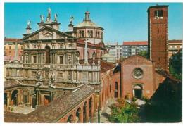 # CARTOLINA LOMBARDIA –MILANO – CHIESA DI S. CELSO NON VIAGGIATA CONDIZIONI BUONE - Milano