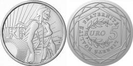 5  EUROS  BU  Argent / Silver  Sortie De Rouleau   PORT OFFERT - France