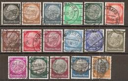 DR 1933 // Michel 512/528 O (3264) - Deutschland