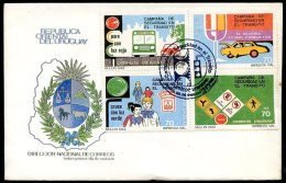 URUGUAY - TRANSIT Mi # 1856/9 FD VF - Uruguay