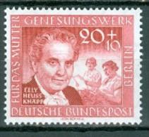 BERLIN - Mi-Nr. 178 - Deutsches Mutter-Genesungswerk Postfrisch - Ungebraucht