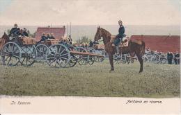 AK Artillerie En Réserve - 1. WK  (16636) - Guerre 1914-18