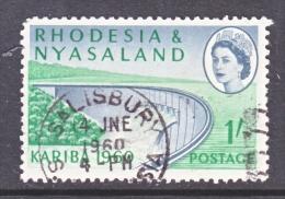 RHODESIA And  NYASALAND  174  (o) - Rhodesia & Nyasaland (1954-1963)