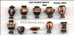 Fève Fèves Série Complète Les Vases Grecs Mat 2003 - Sorpresine