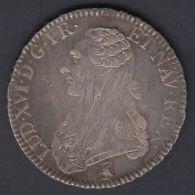M76 FRANCE UN ECU 1790A FRANCAISE REVOLUTION. LOUIS XVI - France