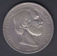 M67 NETHERLAND HOLLAND NEDERLAND 5 G 1872. SILVER - Netherlands