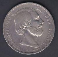 M67 NETHERLAND HOLLAND NEDERLAND 5 G 1872. SILVER - Unclassified