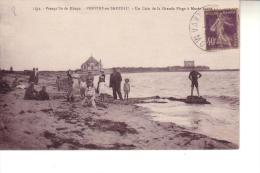 Presqu'ile De Rhuys  PENVINS En SARZEAU  Un Coin De La Grande Plage à Marée Haute - France