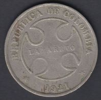 M23 COLOMBIA LEPER COLONY COIN 50c - Colombia